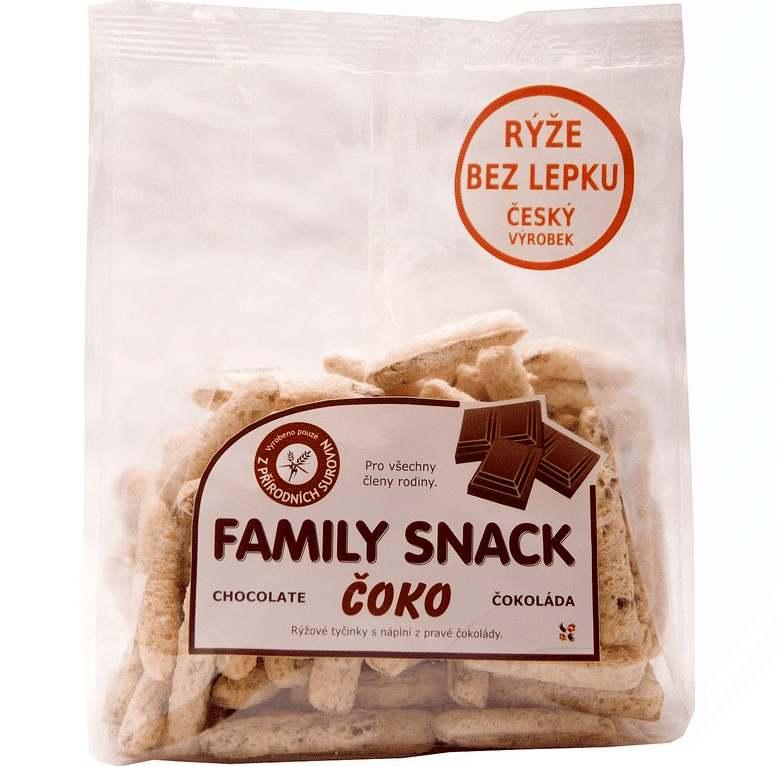CANDY, spol. s.r.o. Family snack Čoko 165 g