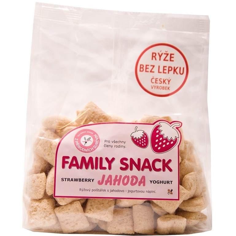 CANDY, spol. s.r.o. Family snack Jahoda 165 g