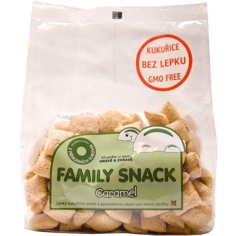 CANDY, spol. s.r.o. Family snack Caramel 165 g