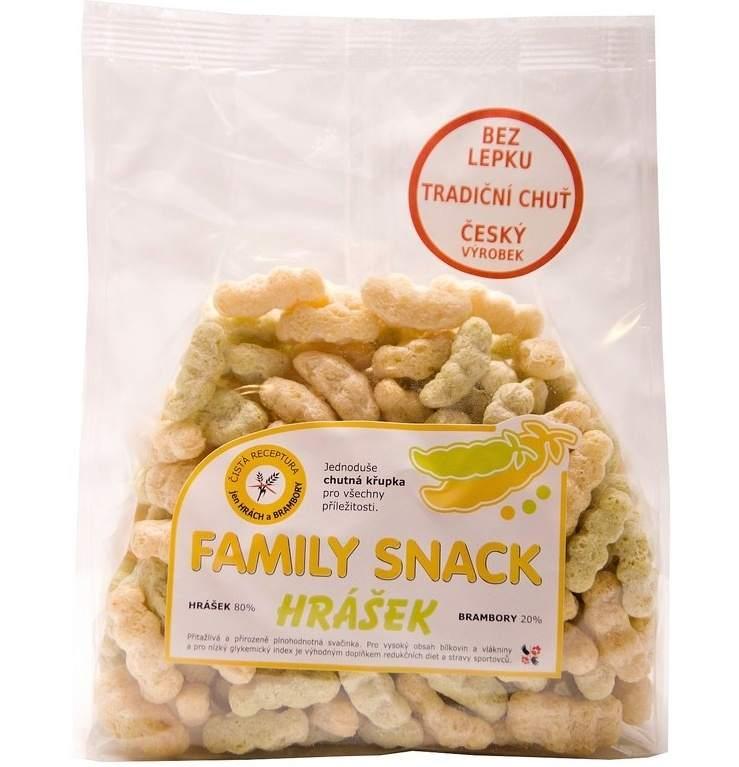 CANDY, spol. s.r.o. Family snack Hrášek 100 g