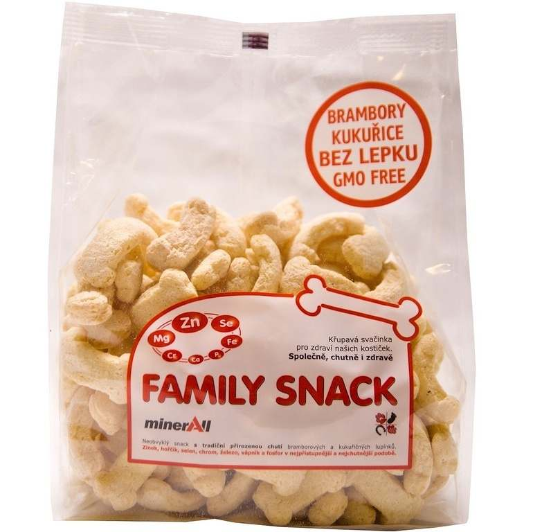 CANDY, spol. s.r.o. Family snack MinerAll 125 g