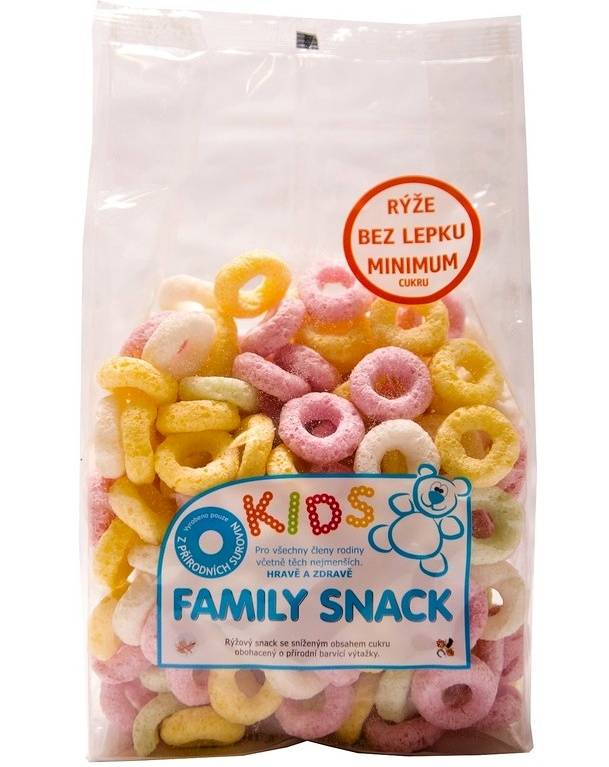 CANDY, spol. s.r.o. Family snack Kids 120 g