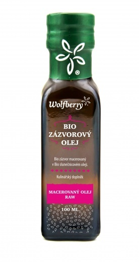 Wolfberry BIO Zázvorový olej 100 ml