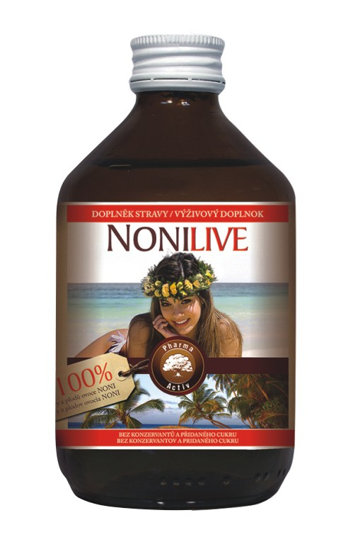 Pharma Activ NoniLive – 100% šťáva z plodů Noni 1000 ml