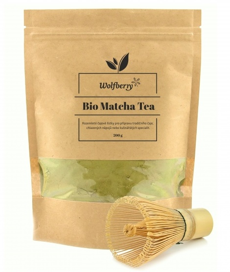 Wolfberry Matcha tea sada