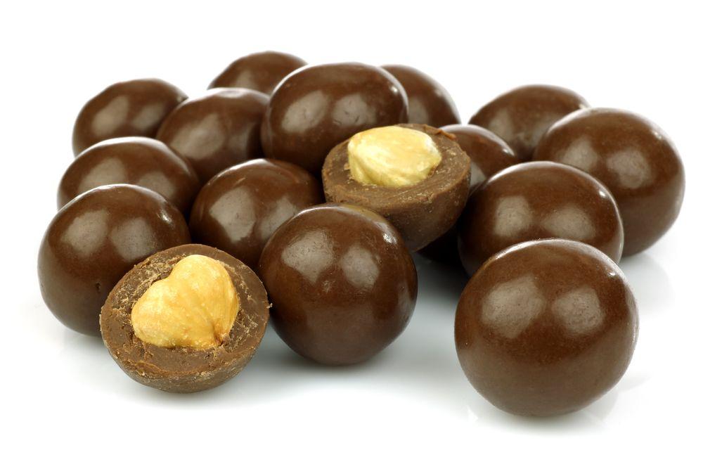 IBK Lísková jádra v mléčné čokoládě Balení: 80 g