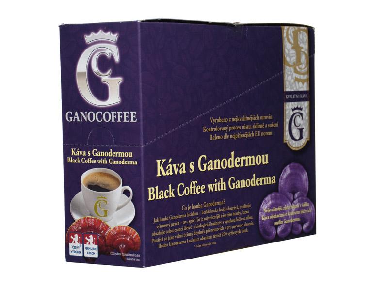 Ganocoffee Káva s Ganodermou 20 sáčků x 3,5g