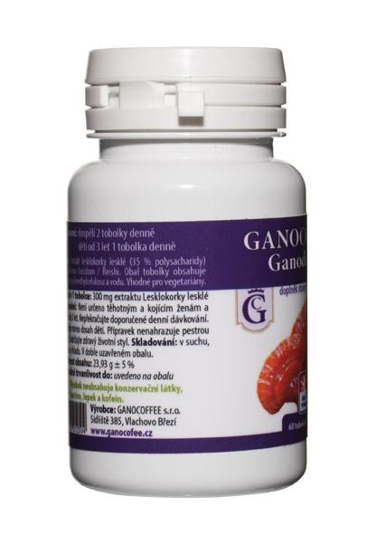 Ganocoffee Ganoderma 60 tob.
