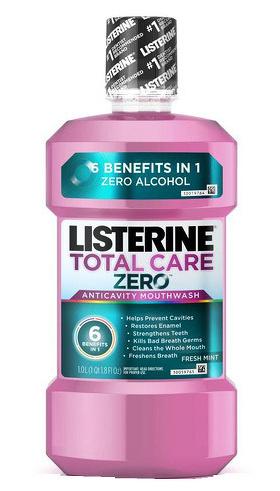 Listerine Ústní voda kompletní péče bez alkoholu Total Care Zero 500 ml