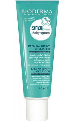Bioderma Krém na šupiny ve vlasech pro děti ABCDerm BabySquam 40 ml