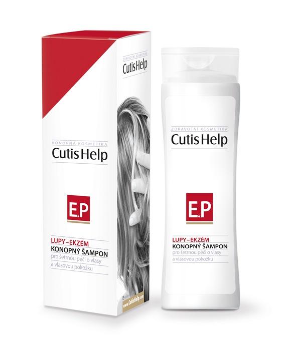 CutisHelp Konopný šampon Lupy-Ekzém 200 ml