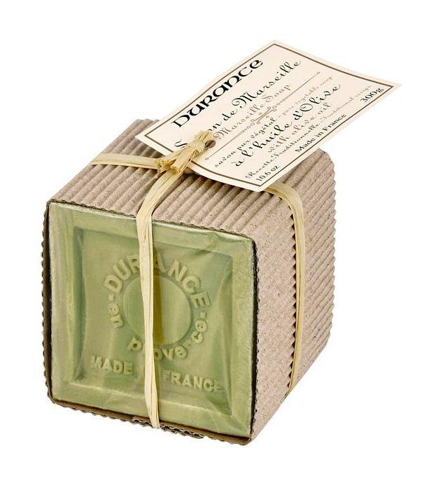 Durance Mýdlo Marseille olivový olej dárkové balení 300 g