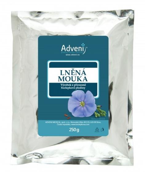 Adveni Lněná mouka 250 g