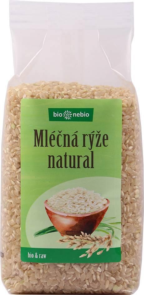 Bionebio BIO Rýže kulatozrnná natural 500 g