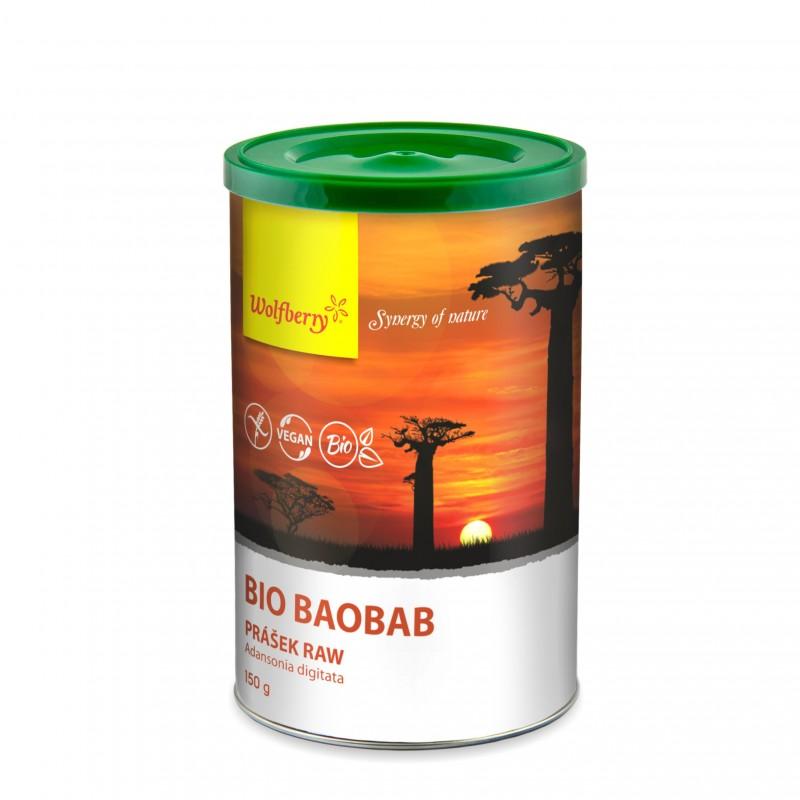 Dragon superfoods Bio Baobab prášek Raw 100 g