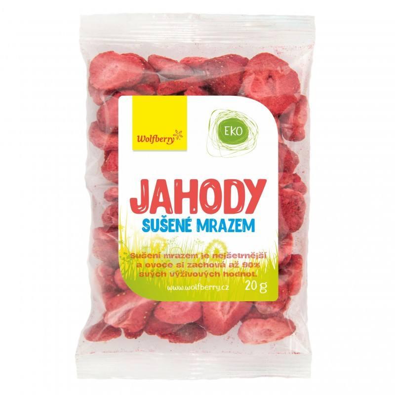 Wolfberry Jahody - plátky sušené mrazem 20 g