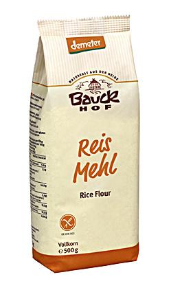 Bauckhof BIO Mouka rýžová celozrnná 500 g
