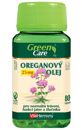 VitaHarmony Oreganový olej 25 mg 80 tob.