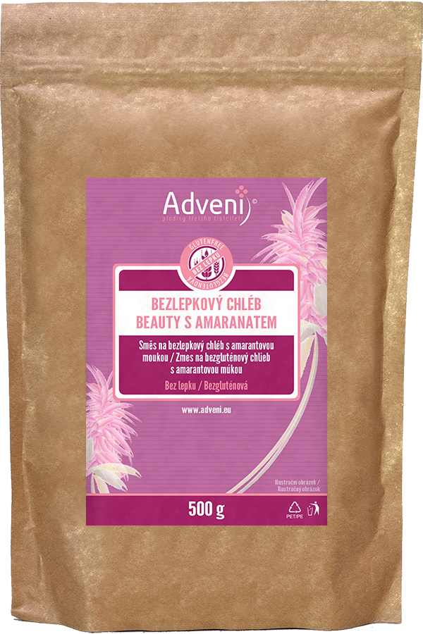 Adveni Bezlepkový BEAUTY chléb s amarantem 500 g