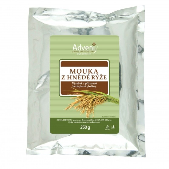 Adveni Mouka z hnědé rýže 250 g