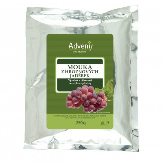 Adveni Mouka z hroznových jadérek 250 g