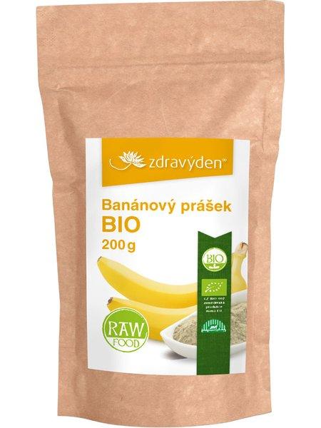 ZdravýDen® BIO Banánový prášek RAW 200 g