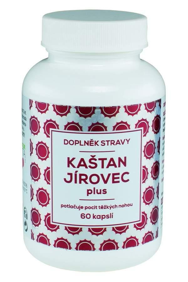 Naturvita Kaštan Jírovec plus 60 kapslí