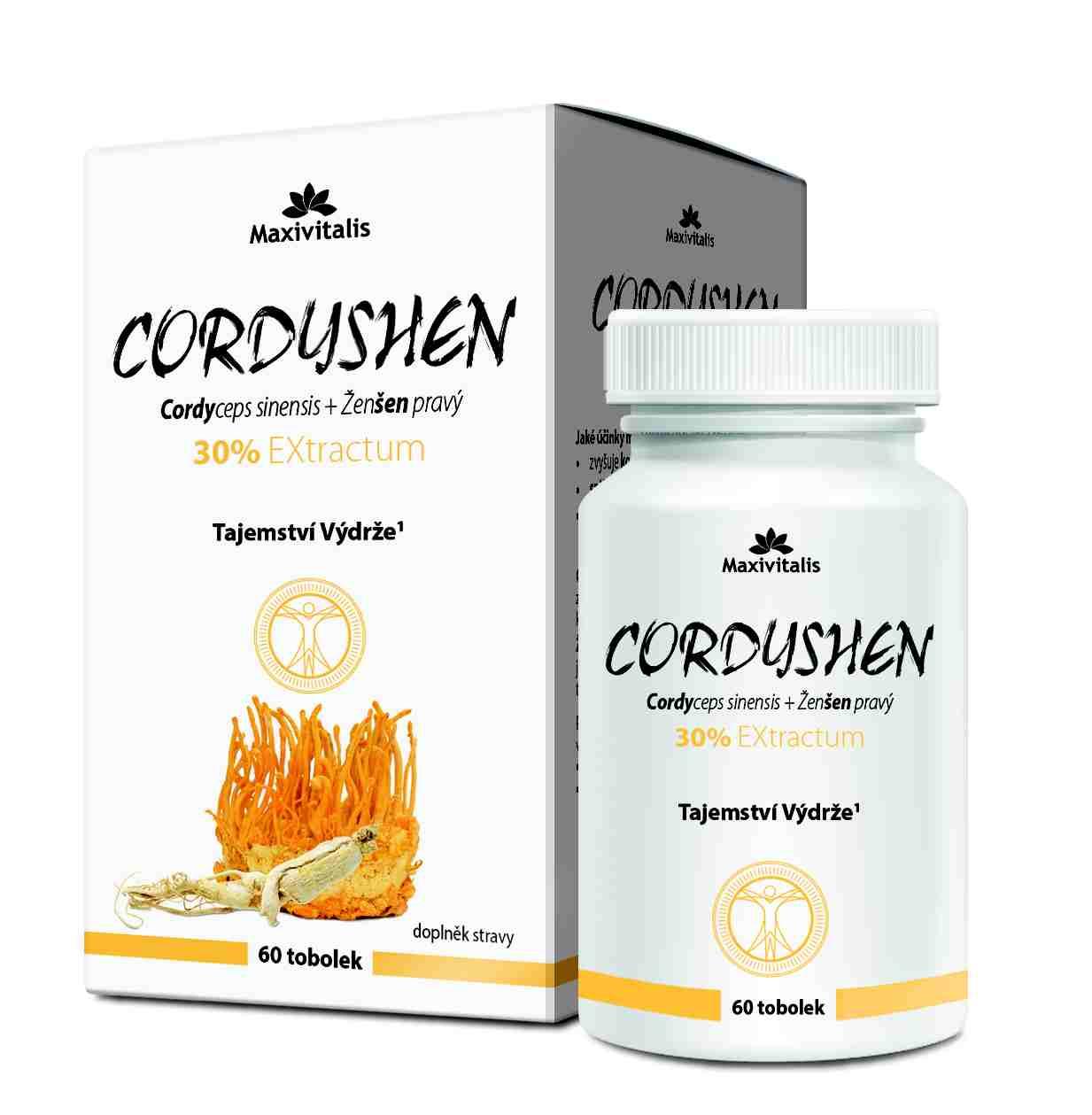 Maxivitalis Cordyshen 30% EXtractum 60 tob.