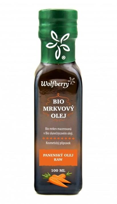 Wolfberry BIO Mrkvový olej 100 ml