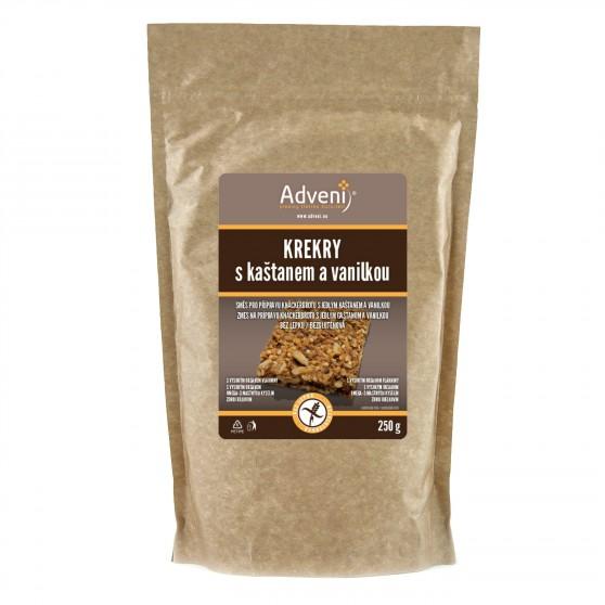 Adveni Krekry s kaštanem a vanilkou 250 g