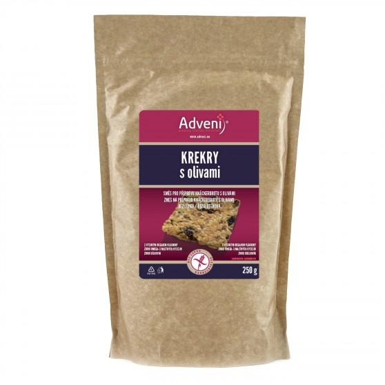 Adveni Krekry s olivami 250 g