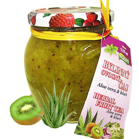 Madami Pečený bylinný čaj Aloe vera & Kiwi 520 ml