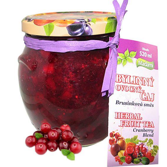 Madami Pečený bylinný čaj Brusinka 520 ml