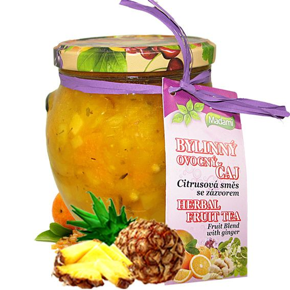 Madami Pečený bylinný čaj Mango & Ananas 520 ml