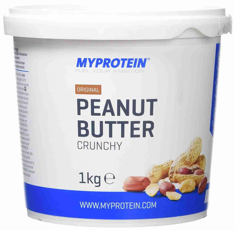 MyProtein Arašídové máslo crunchy (křupavé) 1000 g