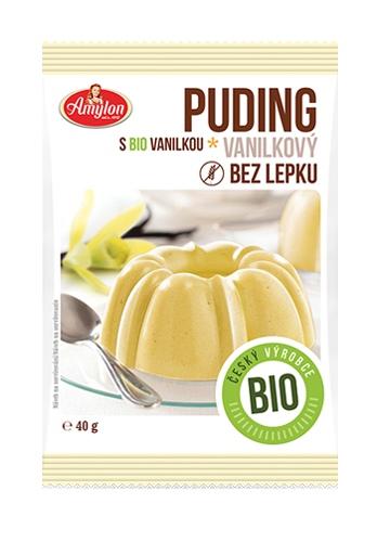 Amylon Bio Puding vanilkový bez lepku 40 g