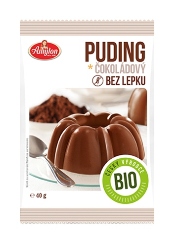 Amylon Bio Puding čokoládový bez lepku 40 g