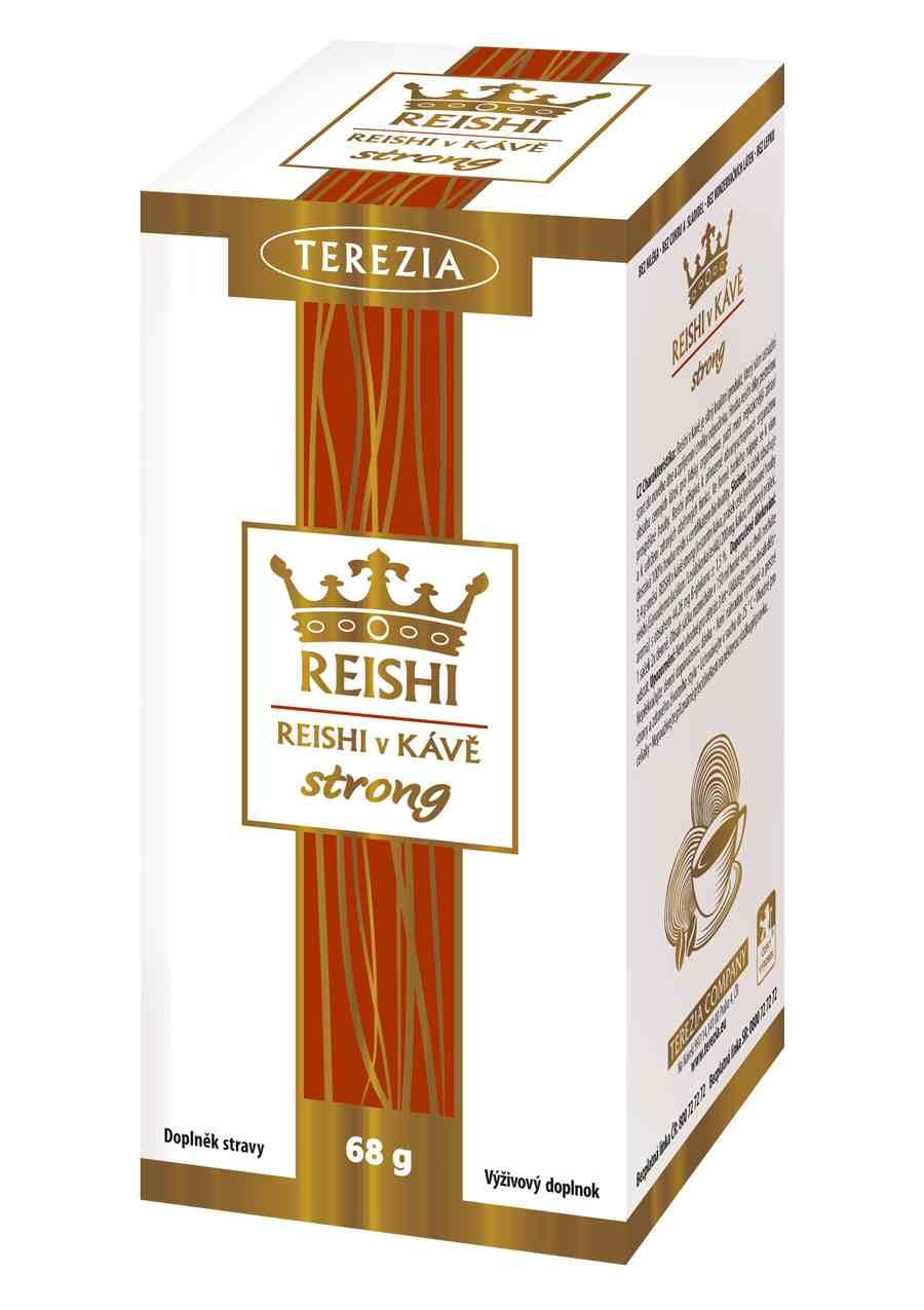 Terezia Company Reishi v kávě strong 20 sáčků