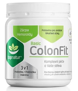 Topnatur ColonFit Basic - pro zdravá střeva 180 kapslí