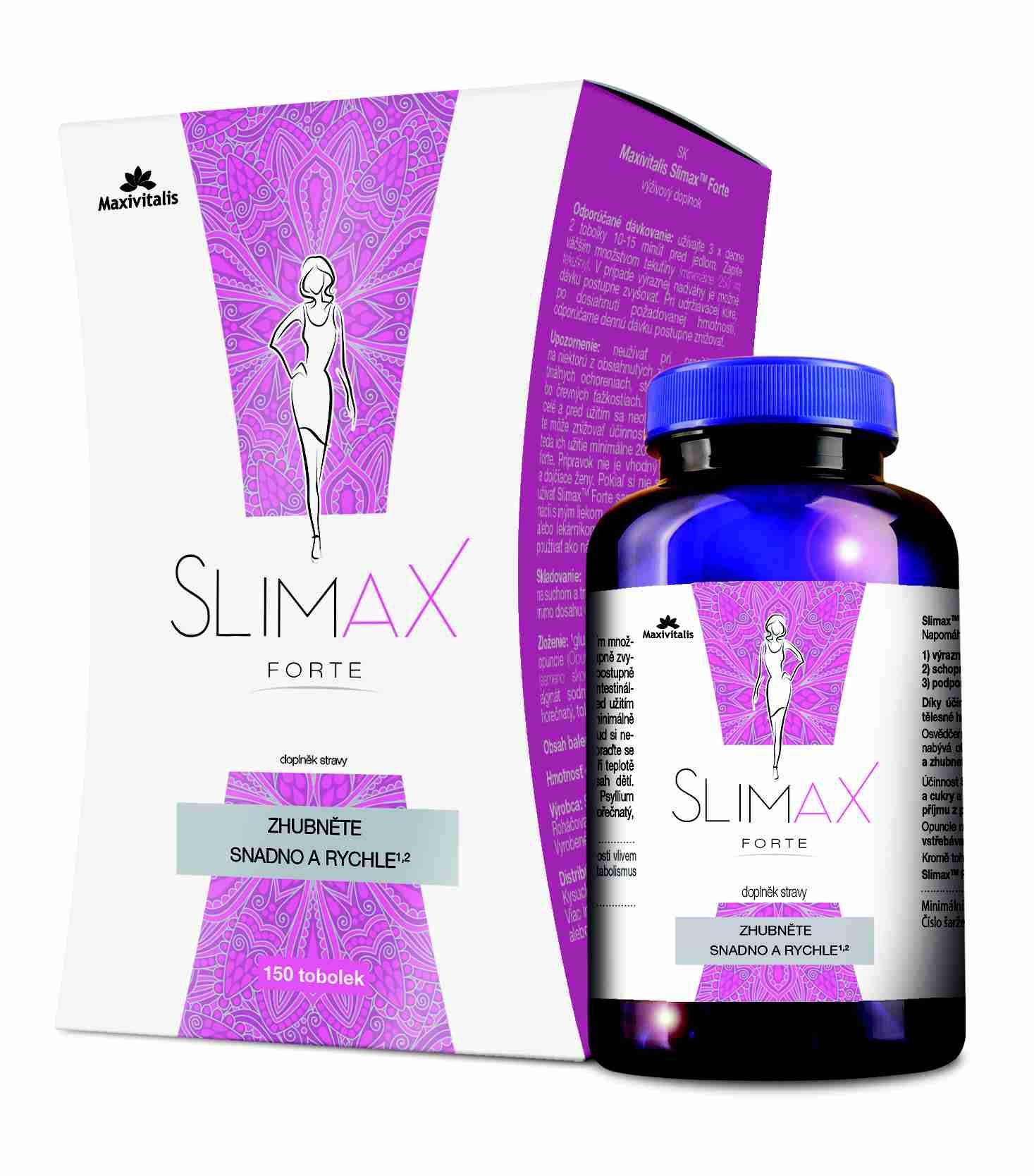 Maxivitalis Slimax Forte 150 tob.