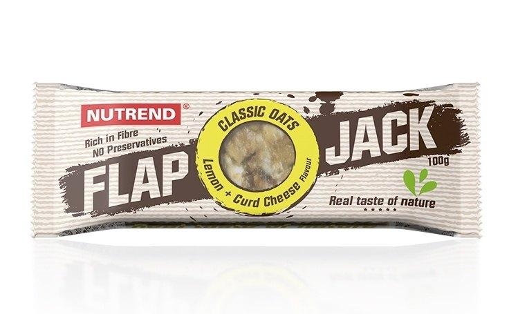 Nutrend Flapjack Citron + tvaroh 100 g