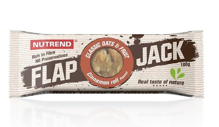 Nutrend Flapjack Skořicový šnek 100 g