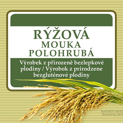 Adveni Rýžová mouka polohrubá 5000 g