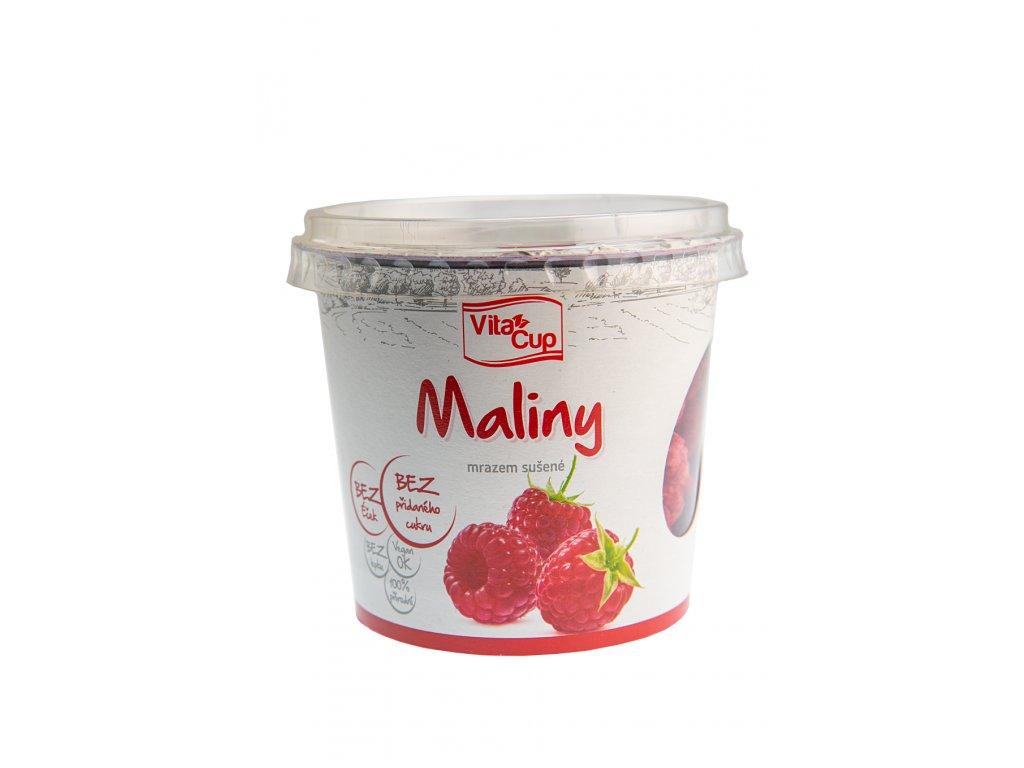 K-SERVIS PRAHA, a.s. VitaCUP Maliny - celé sušené mrazem 25 g