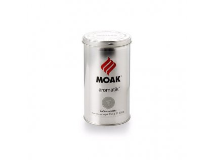 714 moak aromatik mleta kava v plechovce 250g