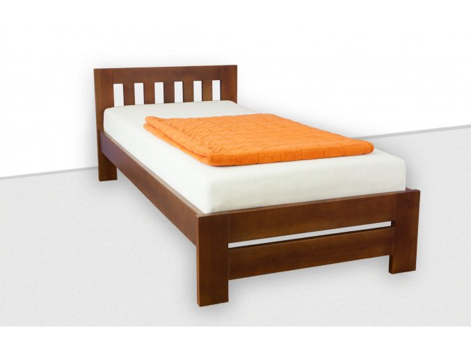 Jednolůžková postel z masivu SABINA