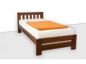 Jednolůžková postel z masivu MARVELON