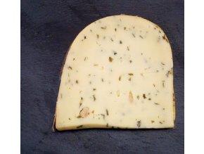 bazalka, česnek, piniový oříšek, SÝROVÉ DÁRKY, DOBRÝ DÁREK, VÝBORNÝ DÁREK, kravský sýr, sýrárna, sýrárna Mikulov