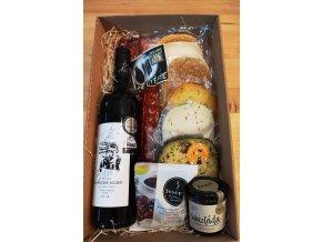 dárkové balení, sýry online, delikatesy online, dárkové balení k narozeninám, nejlepší dárek, mikulov, sýrárna mikulov
