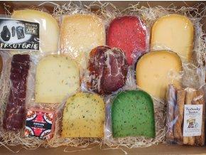 Paštika, dárkové balení, dárková kazeta, balení sýrů, delikatesy, nejlepší dárek